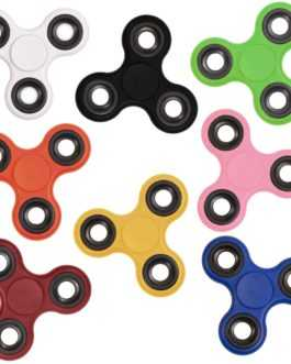 Spinner anti-stress colorido com rolamento